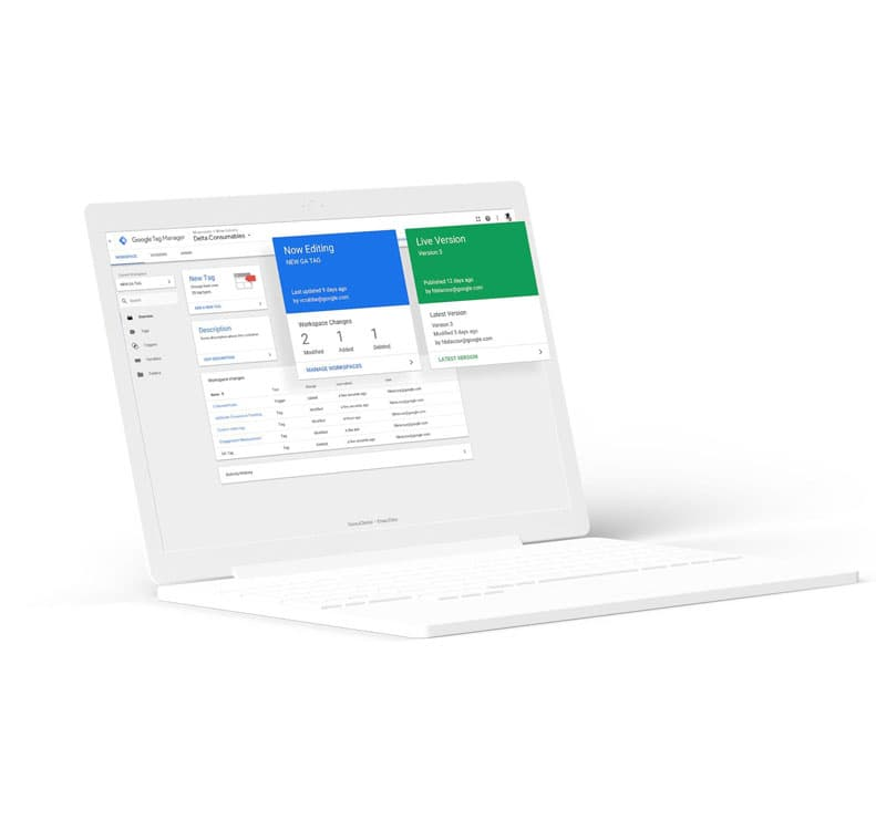 Website Tagging Technologies - Google Tag Manager