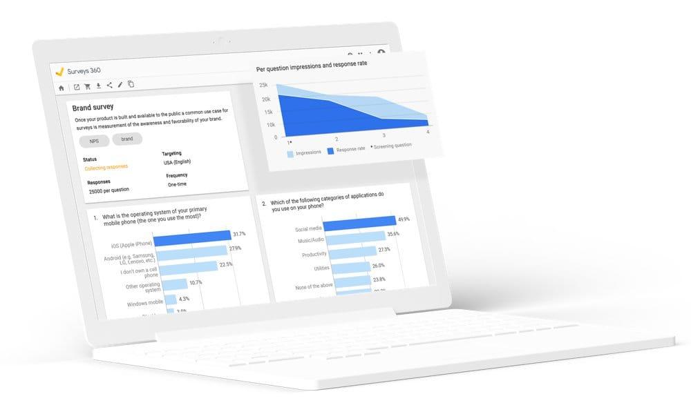2bf495c6b Como as pesquisas on-line para pesquisa de mercado funcionam  Google Surveys